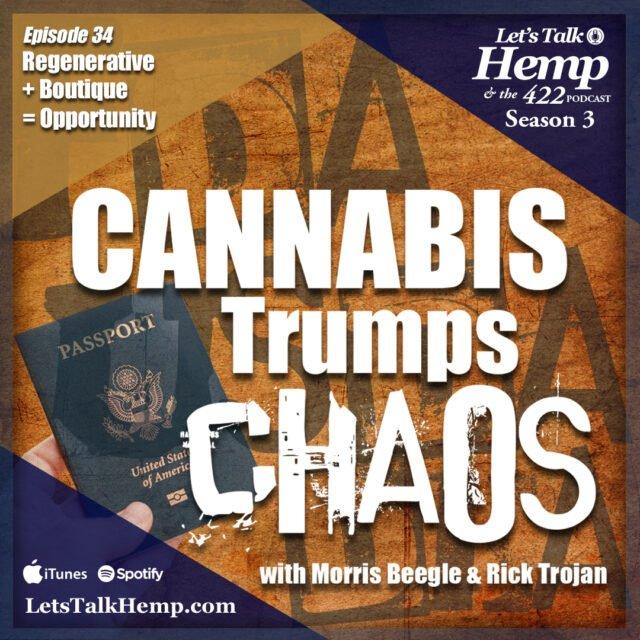 Shane Davis on Lets Talk Hemp with Morris Beegle and Rick Trojan